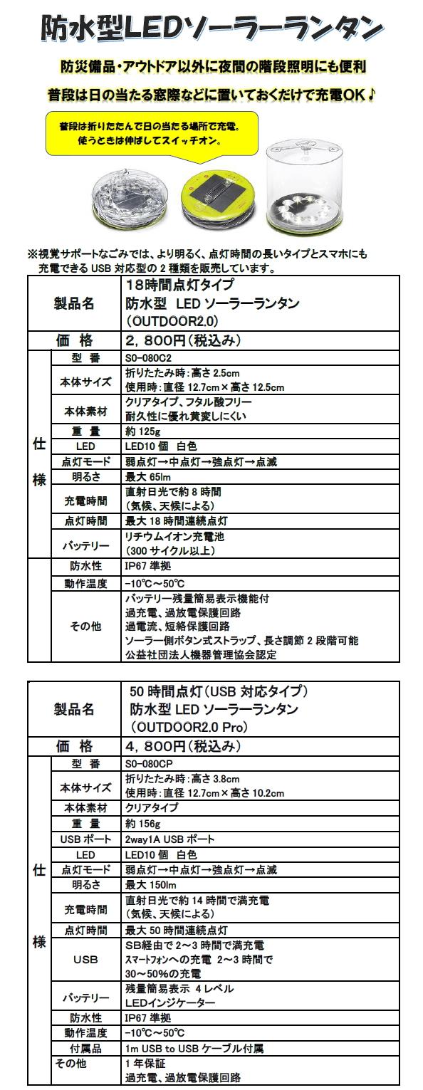 視覚サポートオリジナルカレンダー2019年